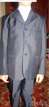 Размер:6-10лет Цвета:синий Материал: полиэстер, коттон размер 50,52,56,58. Овруч, Житомирская область. фото 4