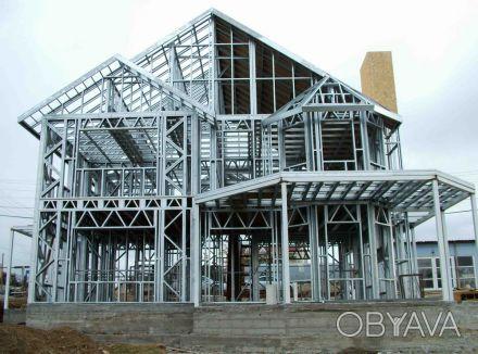 Компания «Альбатрос» предоставляет услуги по каркасному строительству малоэтажны. Днепр, Днепропетровская область. фото 1