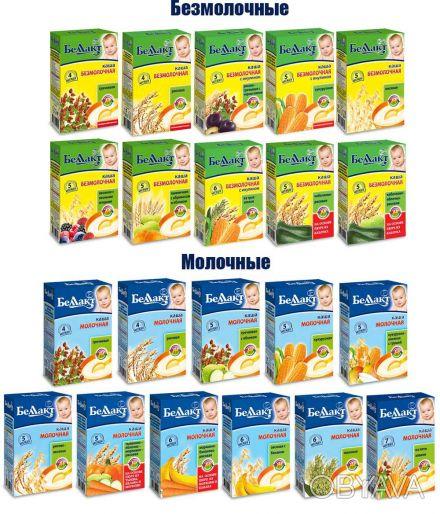 Детское питание в наличии и под заказ, разное  детские каши Беллакт молочные и. Чернигов, Черниговская область. фото 1