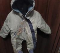 детский комбинезон для новорожденного мальчика голубой польский рост 68см. Кривий Ріг. фото 1