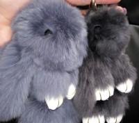 Хит 2016 года во всем мире – брелок меховой кролик ! Казалось бы, такой незатейл. Полтава, Полтавская область. фото 2