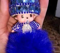 Очень очень красивый, оригинальный, яркий брелок для детей и взрослых.  В жизни. Полтава, Полтавская область. фото 2