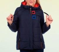 Jarius 105 весенняя женская куртка-парка. Черкаси. фото 1