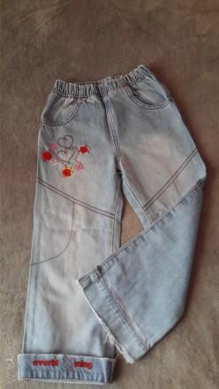 """Джинсы""""Gloria jeans""""26м/104р.Резинка на талии, плотного 100% коттона,состояние н. Светловодск, Кировоградская область. фото 1"""