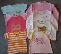 Комплект одежды на девочку,футболки, кофты,майка. Светловодск. фото 1