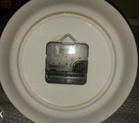 Продам фарфоровий годинник, стан відмінний! Працює від однієї батарейки. Діаметр. Дрогобыч, Львовская область. фото 3