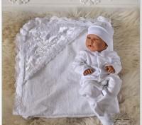 Комплект на выписку для новорожденного. Житомир. фото 1