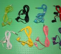 Вакуумні навушники. Вакуумные наушники. MP3, FM, музика.. Львов. фото 1