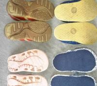 Комплект обуви . Ботинки L'Deer,тапочки ,шлёпанцы. Красные ботинки р.23,тапки . Светловодск, Кировоградская область. фото 4