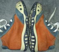 """Итальянские ботинки""""Melania"""",р.23/14,5см,натуральная замша,внутри кожа,носок про. Светловодск, Кировоградская область. фото 3"""