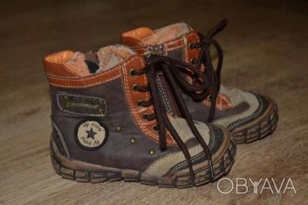 Теплая ,удобная обувь для вашего ребенка.размер 25. Стрый, Львовская область. фото 1