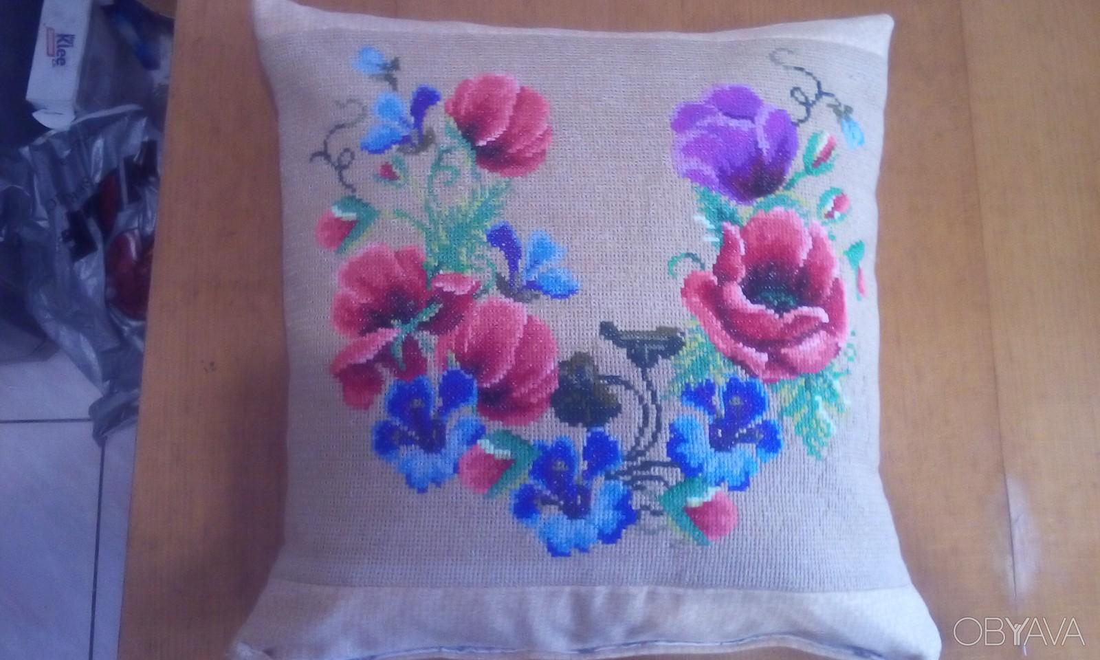 Вышивка на подушки схемы и фото