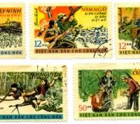 "Продам марки ""Вьетнам"" конца 1950-х -начала 1960-х годов. Цена указана за 7 маро. Винница, Винницкая область. фото 3"