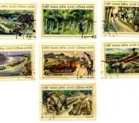 "Продам марки ""Вьетнам"" конца 1950-х -начала 1960-х годов. Цена указана за 7 маро. Винница, Винницкая область. фото 4"