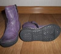 Сапожки демисезонные для девочки.Цвет фиолетовый.Страна производитель Польша. Фи. Конотоп, Сумская область. фото 5