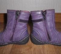 Сапожки демисезонные для девочки.Цвет фиолетовый.Страна производитель Польша. Фи. Конотоп, Сумская область. фото 3