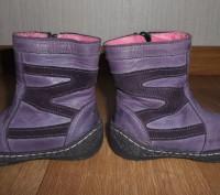 Сапожки демисезонные для девочки.Цвет фиолетовый.Страна производитель Польша. Фи. Конотоп, Сумская область. фото 4