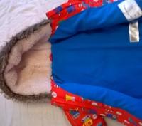 продам курточку с капюшоном   для мальчика 1 - 1,5годика в отличном состоянии. Киев, Киевская область. фото 4