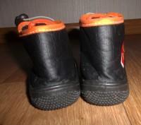 Мокасины-ботиночки для мальчика,черного цвета с аппликацией резиновый мишка .Стр. Конотоп, Сумская область. фото 4