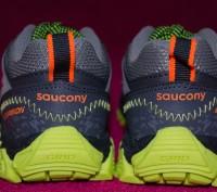 Фирменные кожаные кроссовки Saucony       с технологией   ANTI-ODOR -    антиза. Киев, Киевская область. фото 4