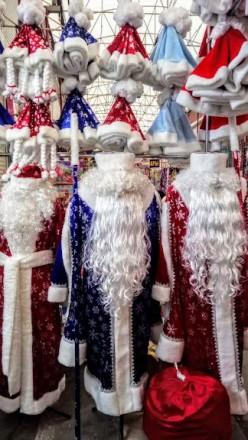 Дед мороз, снегурочка в наличии более 10 разных вариантов от 500грн до 3000грн. . Одеса, Одесская область. фото 13