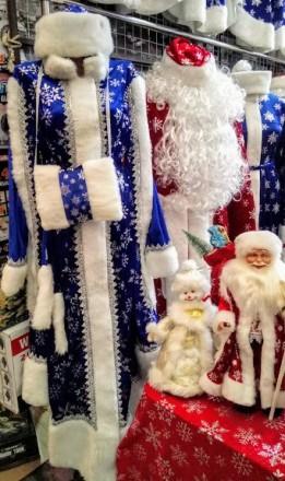 Дед мороз, снегурочка в наличии более 10 разных вариантов от 500грн до 3000грн. . Одеса, Одесская область. фото 10