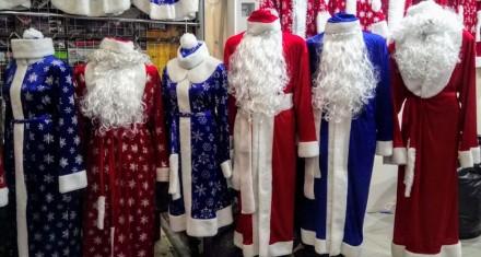 Дед мороз, снегурочка в наличии более 10 разных вариантов от 500грн до 3000грн. . Одеса, Одесская область. фото 2