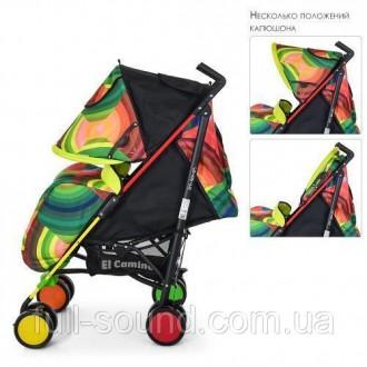 функциональная прогулочная коляска с облегченной рамой, выполнена из экологическ. Одесса, Одесская область. фото 5