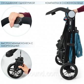 прогулочная коляска el camino tempo выполнена из экологически чистых и гипоаллер. Одесса, Одесская область. фото 5