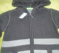 Новий светер з капішоном для хлопчика 5 років США , светрик заказували з сайту д. Львов, Львовская область. фото 4