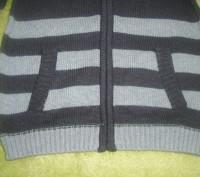 Новий светер з капішоном для хлопчика 5 років США , светрик заказували з сайту д. Львов, Львовская область. фото 5