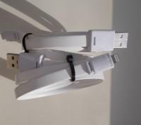 Плоский кабель PNGXE USB - Ligthning. Северодонецк. фото 1