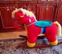 Продам лошадку качалку в хорошом состоянии, как новая.. Червоноград, Львовская область. фото 2