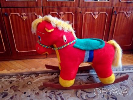 Продам лошадку качалку в хорошом состоянии, как новая.. Червоноград, Львовская область. фото 1