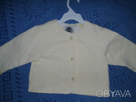 Нарядний піджак для дівчинки на 24 міс Baby Lulu USA бренд США виробник США ткан. Львов, Львовская область. фото 1