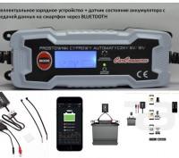 Интеллектуальное зарядное устройство + датчик состояния аккумулятора. Львов. фото 1
