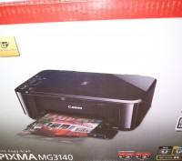 Принтер сканер ксерокс 3в1 Canon Pixma MG3140 новий в упаковці. Львов. фото 1