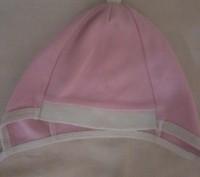 Шапка рожева біла від 6 - 12 місяців .Стан ідеальний.Добре фіксує голову дитини.. Львов, Львовская область. фото 4