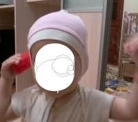 Шапка рожева біла від 6 - 12 місяців .Стан ідеальний.Добре фіксує голову дитини.. Львов, Львовская область. фото 3