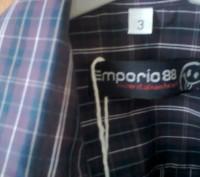 Красивая рубашка, производство итальяно Fagottino OVS,  на рост 98 см (2-3 года. Мелитополь, Запорожская область. фото 2