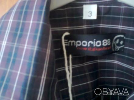Красивая рубашка, производство итальяно Fagottino OVS,  на рост 98 см (2-3 года. Мелитополь, Запорожская область. фото 1