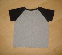 На рост 92см. Материал - 100% хлопок. Особенность - футболка-реглан двухцветная. Конотоп, Сумская область. фото 4