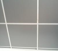 Потолочные плиты из металла для подвесного потолка Армстронг. Киев. фото 1