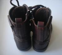 сапоги детские , кожа, натуральный мех, размер 27 длина стельки 17,5 см, хорошее. Полтава, Полтавская область. фото 3