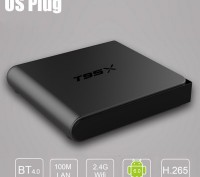 T95X 2/16 Android 6.0 Smart tv box смарт тв приставка Sunvel s905x x96. Киев. фото 1