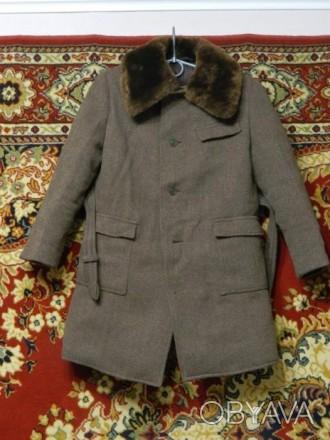 Пальто зимове на хлопчика
