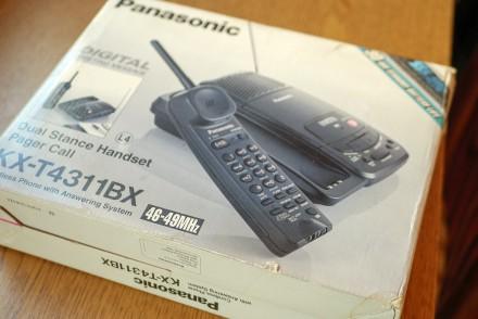 Новый со склада Радиотелефон с автоответчиком на микрокассетах (3шт в комплекте). Николаев, Николаевская область. фото 7