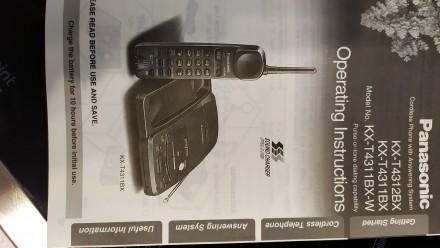Новый со склада Радиотелефон с автоответчиком на микрокассетах (3шт в комплекте). Николаев, Николаевская область. фото 9