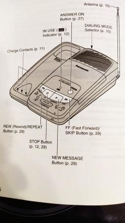 Новый со склада Радиотелефон с автоответчиком на микрокассетах (3шт в комплекте). Николаев, Николаевская область. фото 8