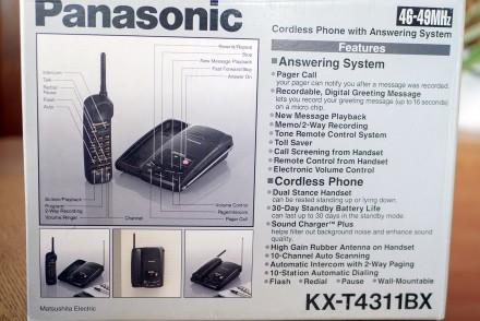 Новый со склада Радиотелефон с автоответчиком на микрокассетах (3шт в комплекте). Николаев, Николаевская область. фото 3